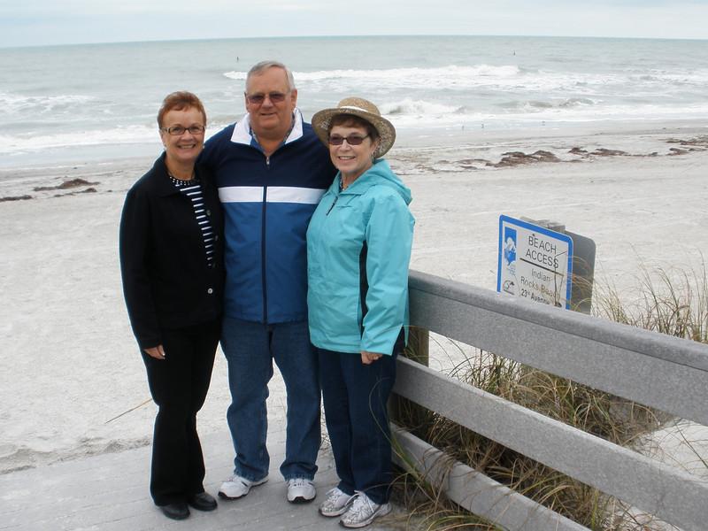 2010-01-30 - Indian Rocks Beach - Vadis, Jerry and Naomi Wagenkenecht