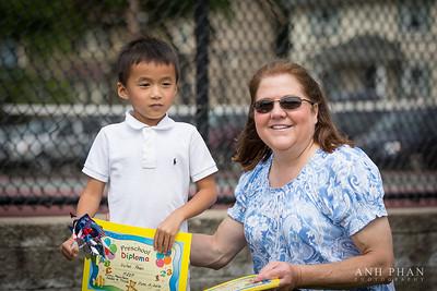 Dylan's Preschool Graduation 2012