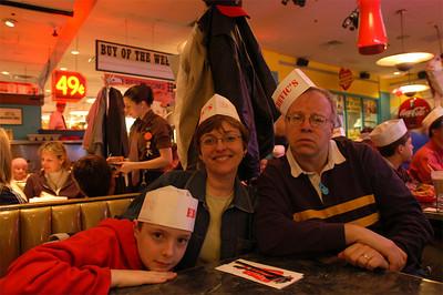 Ed Debevic's in Chicago.  April, 2007