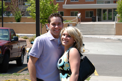 Matthew and Tasha at St. Thomas, Graduation Day 2007