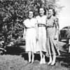 1953 Muriel Howard, Gladys Deardorf Drewett, Lois Drewett Reynolds