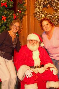 Joyce, MP & Santa