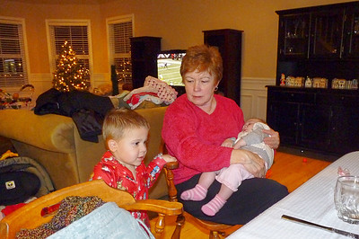 Joey & Cambria with Grandma