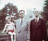 Three generations: John III, John Jr & John Sr. Harmon: Duke University