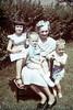 Connie Huff, John Harmon III, Grandmother Marie Crandall & James Huff Jr.