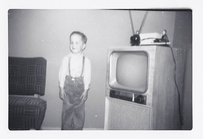 Our new television!! (1954)