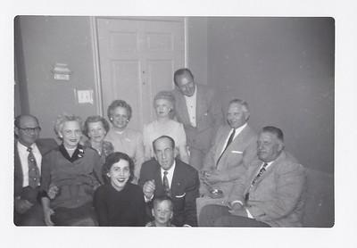 Christmas gathering 1953