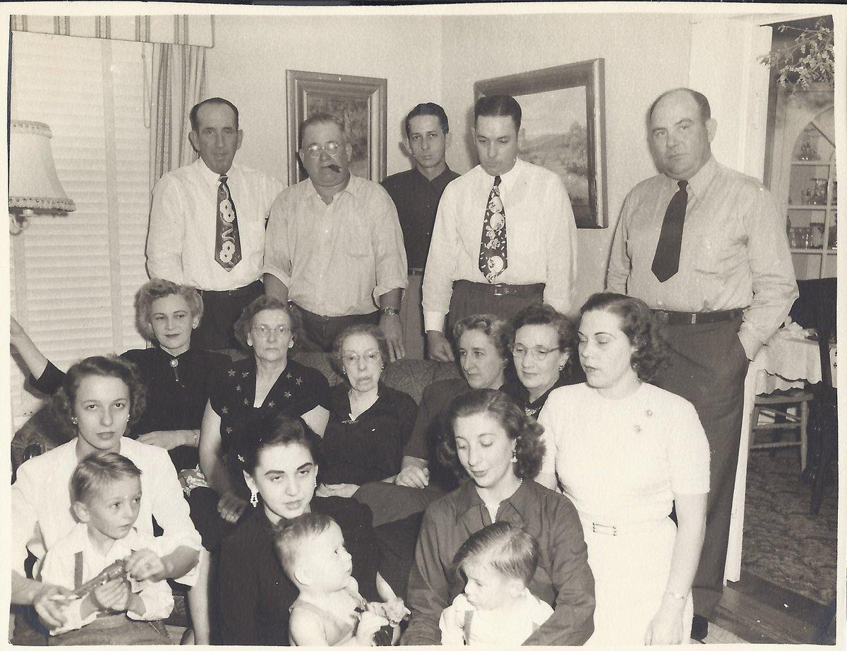 Christmas gathering (1951?)
