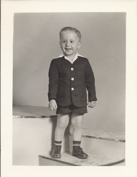 John David - 1954 (?) - Hard to believe you were ever such a cute kiddo!!