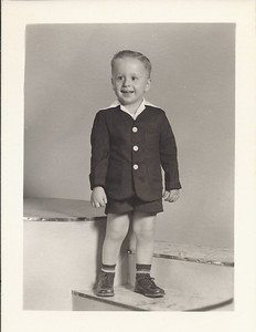 John David - 1954 (?) - Hard to believe you were ever such a cute kiddo!!
