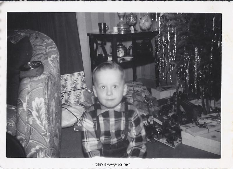John David Christmas 1953