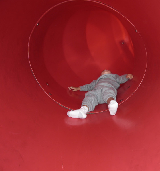 Sliding down the slide (73807388)