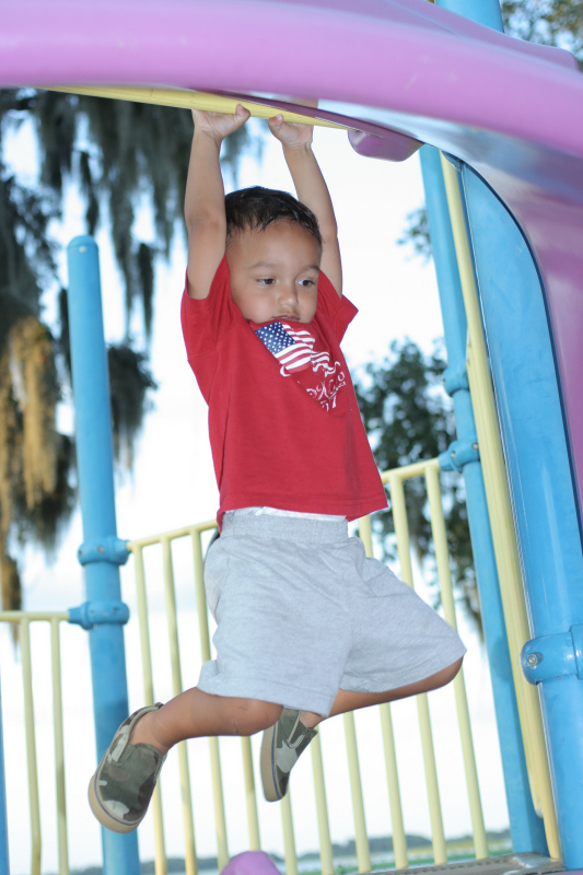Trying out the Jungle Gym in Hernando (84754843)