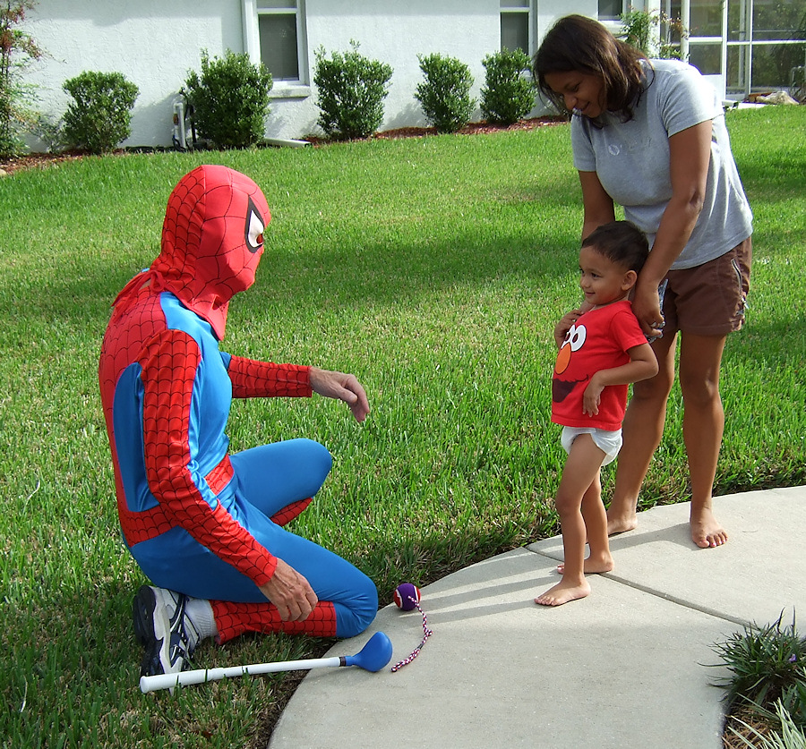Spiderman Meets Peyton (88297424)