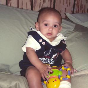 Peyton. Five Months Old.