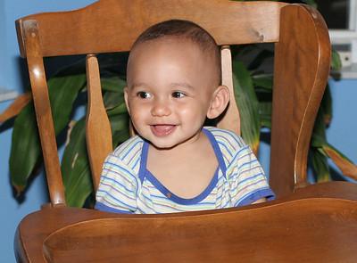 Peyton. Nine Months Old.