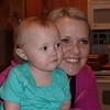Kennedy and her mom, Amy, on Kennedy's first birthday.