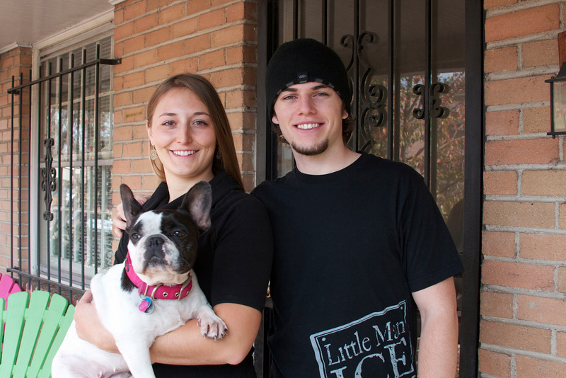 Kristen & Jack Rugile with Chicky
