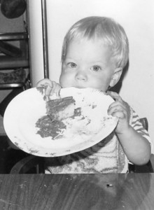 Chris on his 1st birthday!  June 1970.