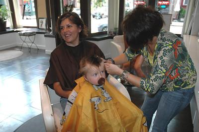 Luca's haircut-July 09_2670