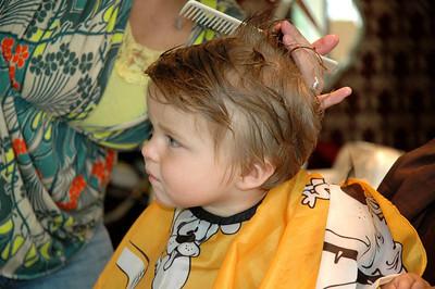 Luca's haircut-July 09_2665