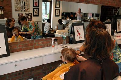 Luca's haircut-July 09_2668