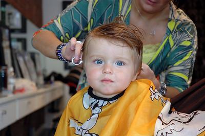 Luca's haircut-July 09_2667