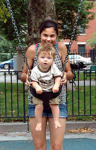 Luca on the swing with Allison-July 09_2675A