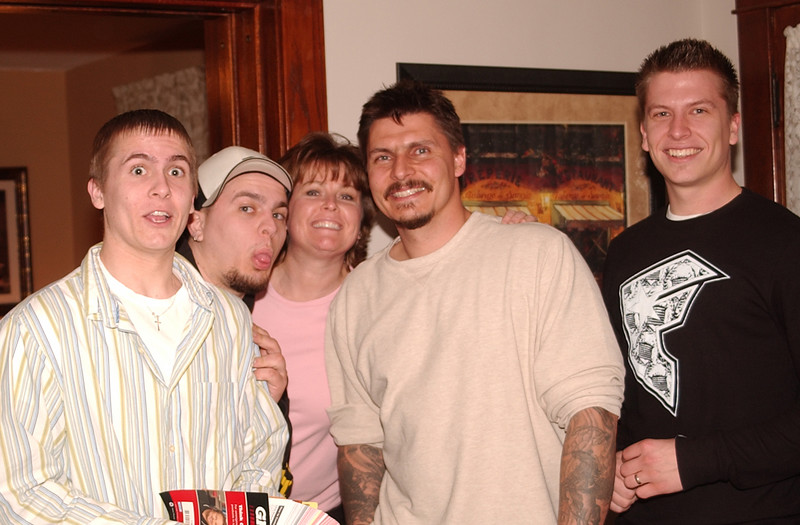 The Tulers!  Seth, Roman, Jackie, Bob.