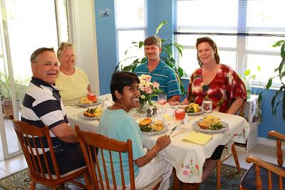 Easter Dinner. 2010.