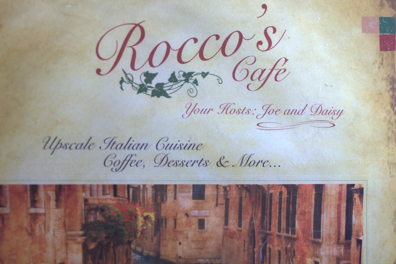 Easter weekend began as Lori and Joe celebrated their 5th wedding anniversary at Rocco's Cafe.