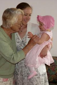 Great Grandma Pat, Ari & Cambria