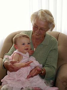 Cambria and Great-Grandma Pat