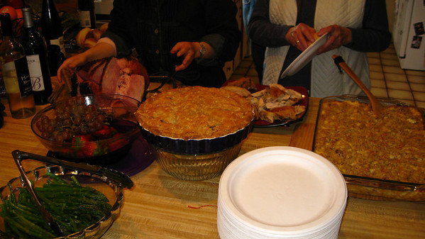 This is not even including the four quiches!