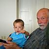 Riley with Grandpa