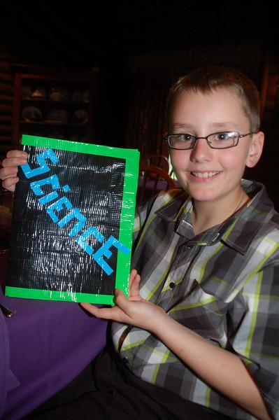 zachary's duct tape folder