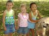 Alyssa, Taylor, Abby and Charlie
