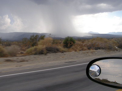 Do ya think it is raining over there????  Truly a moving picture...  about 60 mph.