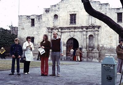 The Alamo John, Patricia, Kathy, Jay