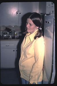 Kathy Edberg in kitchen