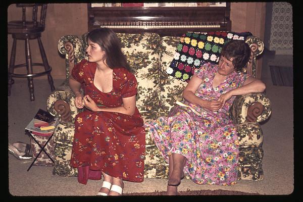 Linda Jean and Pat