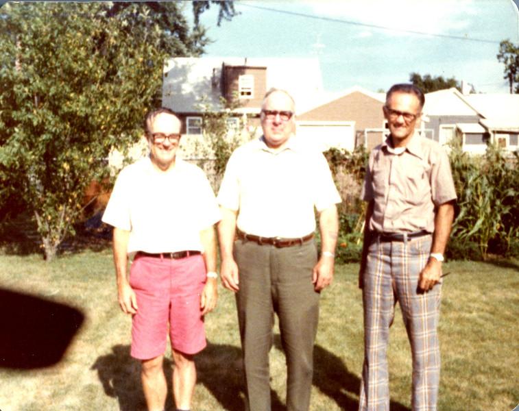 Edwin McIntire , Edgar Myers, Bob McIntire