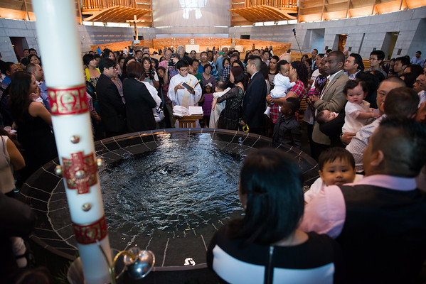 Edie Francesca's Baptism