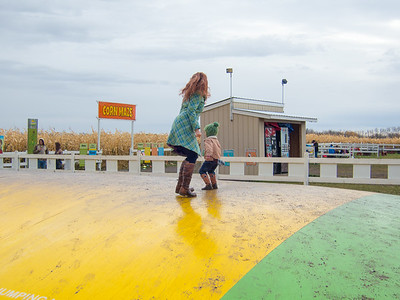 Edmonton Corn Maze - October 2015