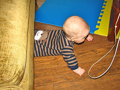 The problem with crawling backwards