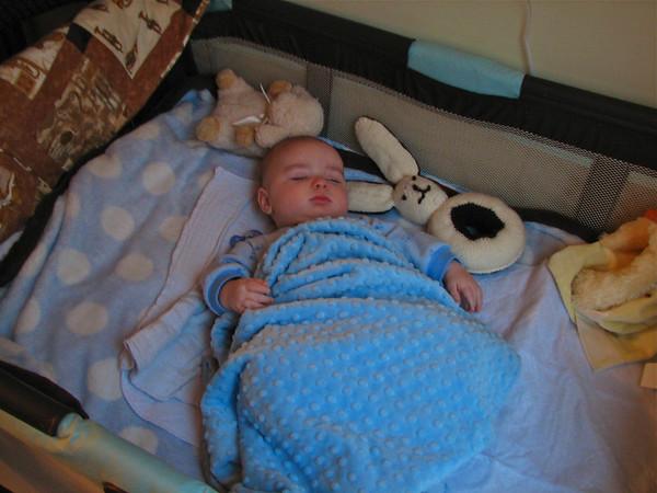 Edmund's Baptism - December 2011