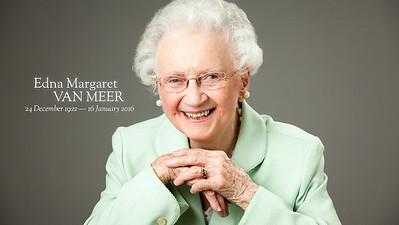 Edna Margaret Van Meer