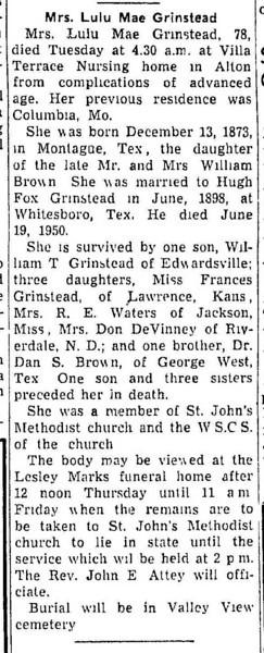 19520820_clip_lula_mae_grinstead_obituary