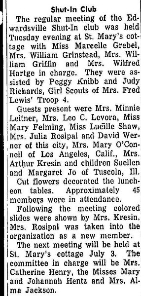 19560606_clip_mom_mary_helps_with_shut-in_club