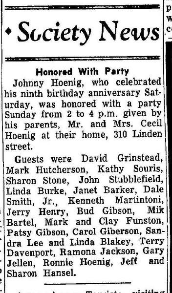 19581118_clip_johnny_hoenig_bday_party
